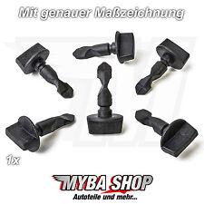 1x fijaciones Clip de tornillos tornillo para AUDI A1 A3 Q5 Q7 + VW 6q0807643