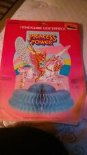 VINTAGE 1985 SHE-RA PRINCESS OF POWER BIRTHDAY PARTY Honeycom NEW IN PACK UNUSED