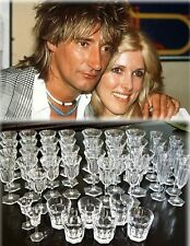 BACCARAT Malmaison Water Goblet Wine Champagne Old Fashioned 43 pcs ROD STEWART