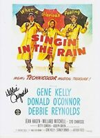 Debbie Reynolds (1932-2016) Singin' in the Rain Original Signed 8X10 Photo #3