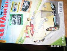 Automobilia n°37 Primaquatre Renault Americaines Packard CG 1000 / 1200 Loi PONS