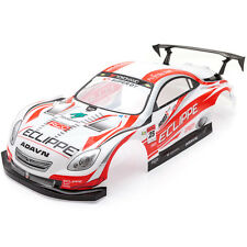 RCG Racing Lexus SC Racing 1/10th RC voiture carrosserie rouge 190 mm S003R