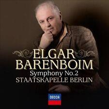 Daniel Barenboim/état chapelle Berlin-Elgar: symphonie 2 CD NEUF Elgar, Edward