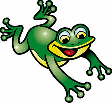 Sticker enfant Grenouille 60x55cm