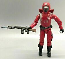 Crimson Guard figure backpack gun 1985 GI Joe Cobra ARAH Trooper Builder Viper