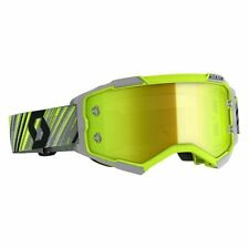 Scott Fury MX Goggle Cross/MTB Brille gelb/grau/gelb chrom works