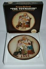 "Norman Rockwell ""The Toy Maker"" 1980 First Annual Collector Plate