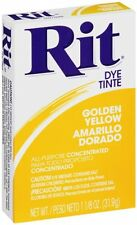Rit Dye Tinte All Purpose Concentrated Fabric Powder Golden Yellow Amarillo