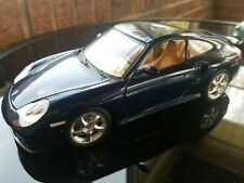 Porsche 996 Turbo - Navy Blue Model (BURAGO) 1999