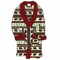 Lazy One Bear Fair Women's Bathrobe, Choice of Sizes