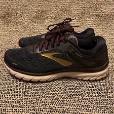Brooks Adrenaline GTS 18 Black/Gold Men's Athletic Running Shoes Size 8.5