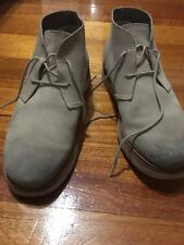 Tsubo Mens Casual Suede Leather Boots Shoes Size US8