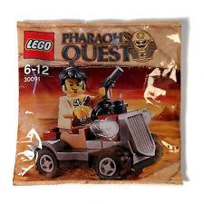 LEGO 30091 Pharaoh's Quest Desert Rover Jake Minifig NEW & Sealed Polybag Set