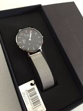 New Daniel Wellington Ladies Classic Petite Sterling 28mm Watch DW00100218 Mesh