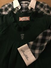 i pinco pallino Tartan Shirt And Sleeveless Jumper Set Age 10 From Harrods