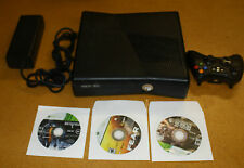 XBOX 360 S CONSOLE 4GB BUNDLE W/ 3 GAMES FREE SHIPPING