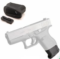 US Tactical Enhanced Magazine Extension Base Pad W/2 Rounds for Glock 43 G43