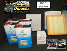 KIT TAGLIANDO ORIGINALE FIAT 500X JEEP RENEGADE 1.4 GPL SELENIA GAS 5W40 FILTRI