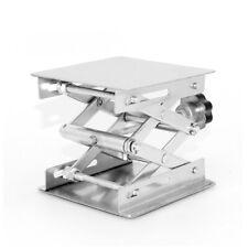 4 6 Square Laboratory Lifting Stand Scissor Jack Bench Platform Table Lab Us