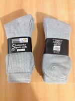 12 pairs 24 pairs Mens Cotton Rich Sports Socks work men size 6-11