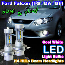 #F08 BA BF FG Ford Falcon LED Headlight Upgrade Kit (H4 Hi/Lo White LED Bulbs)