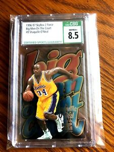 1996 SHAQUILLE O'NEAL SKYBOX Z-FORCE BIG MEN ON THE COURT