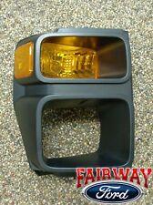 08 09 10 Super Duty F250 F350 OEM Genuine Ford RIGHT Park Lamp Light w/ Bezel
