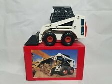 Bobcat 743 Blue Skid Loader - Clover 0001 - 1:19 Scale Diecast Model NIB