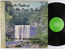 Voices Of Distinction - Out Of The Depths Of Our Souls LP - Black Gospel MP3