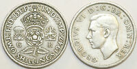 1947 to 1951 George VI Cupro-Nickel Florin Your Choice of Date  / Year Multibuy
