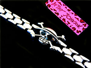 Jewelry Betsey Johnson fashion Skull stainless steel chain Chain Bracelet Women