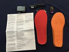 HEATED INSOLES WITH WIRELESS REMOTE AND USB CHARGING NOT THERMACELL Men's 10-11