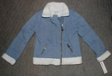 Nicole Miller Girls Denium Jacket - Size 6 - NWT