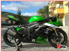CARENA ABS FAIRING KIT KAWASAKI NINJA ZX6R ZX-6R 2009 REPLICA TEAM GREEN SBK BSB