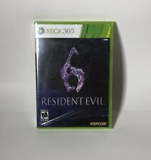 Resident Evil 6 Brand New Factory Sealed! (Microsoft Xbox 360) RE6 Leon Kennedy