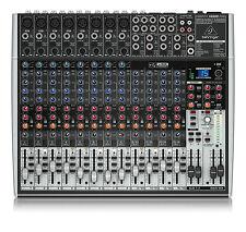 Behringer X2222 USB MIXER XENYX Formato Piccolo DJ Band KARAOKE AUDIO Board