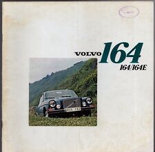 Volvo 164 & 164 E 1972-73 UK Market Sales Brochure