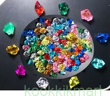 10+100 Fake Gem Diamond Ruby Imitation jewelry Miniature Home Fish Tank Decor