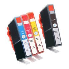 4 PACK 564XL Ink Cartridge for HP Photosmart D5445 D5460 D7560 C510