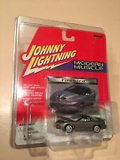 WHITE LIGHTNING 98-02 Pewter Pontiac Firebird Trans Am WS6 Johnny Diecast 1:64