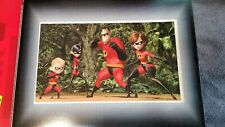 The Incredibles lithograph