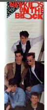 VINTAGE NEW KIDS ON THE BLOCK NKOTB WALL POSTER ORIGINAL PRINT 1989 SEALED
