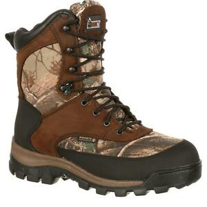 Rocky 4754 Core Waterproof Camo 400g Thinsulate Insulated Lace Up Hunting Boots