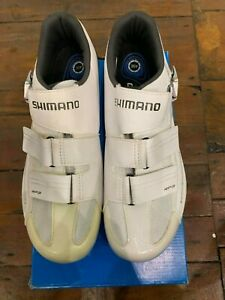 Shimano Rp300 Spd-Sl Shoes, White, Size 45 Wide