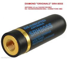Diamond SRH-805S Mini Antenna per portatili 144/430/1200 MHz SMA MASCHIO