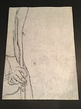 George Segal - GS6- Hand Signed Limited Edition Original Lithograph Made in 1978