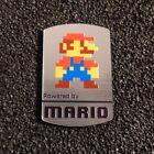 Super Mario Bros 8-bit NES Nintendo Logo Label Decal Case Sticker Badge 452c