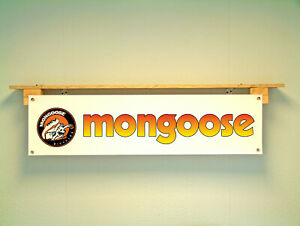 Mongoose Bike banner bmx bicycle Show Display sign