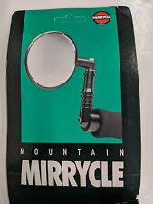 Vintage Mirrycle Bicycle Bike Bar End Mountain Mirror - Black - New Old Stock