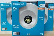 Ecosmart 6 inch Dimmable LED Downlight - Lot of 3 - Soft White _ 65W Equivalent